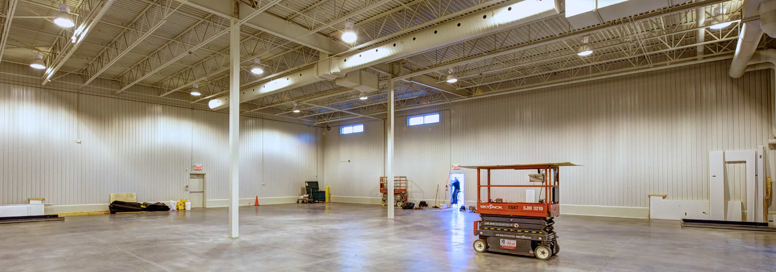 The construction of a refrigerated warehouse: a challenge?