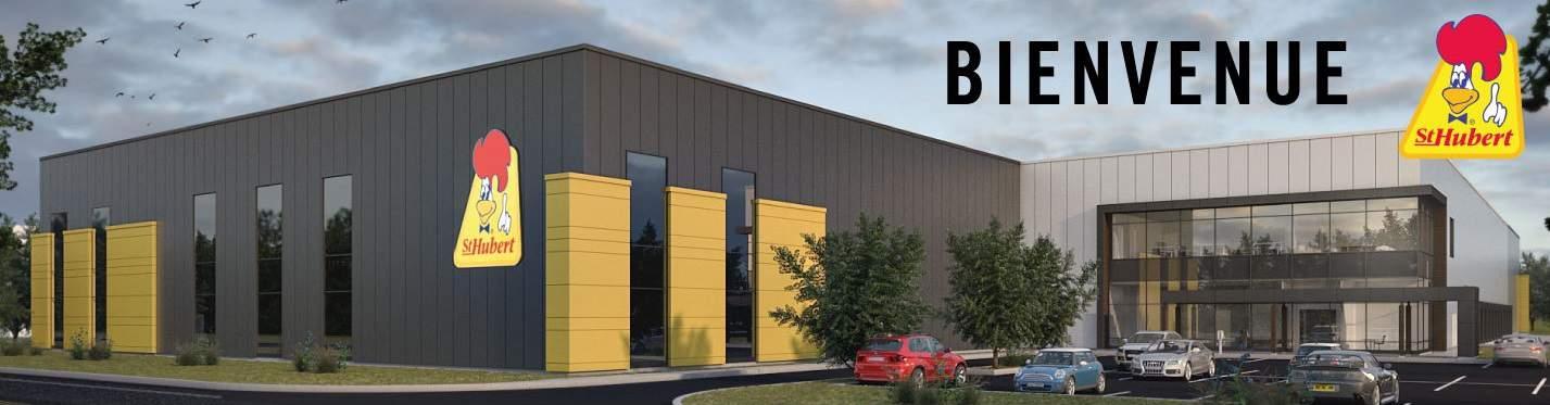 Nouveau projet : Construction du nouveau centre de distribution St-Hubert